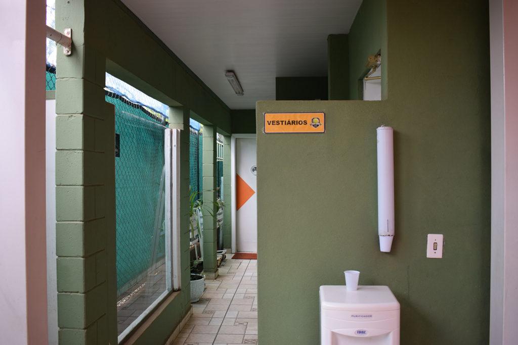 Galeria – Vestiários